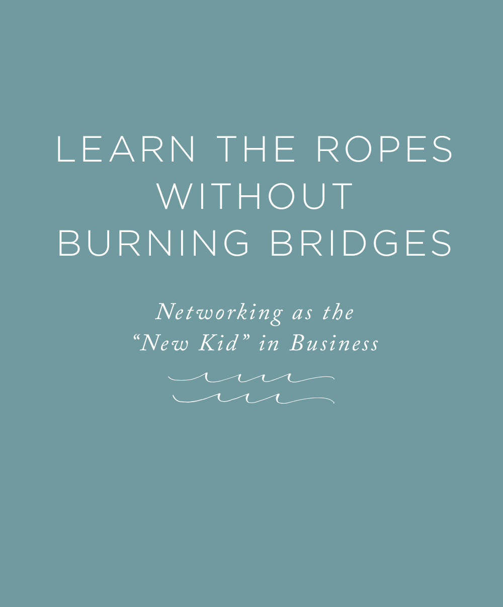 How to learn the ropes without burning bridges! | Rising Tide Society