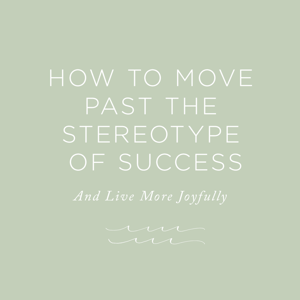 How to Move Past the Stereotype of Success via The Rising Tide Society