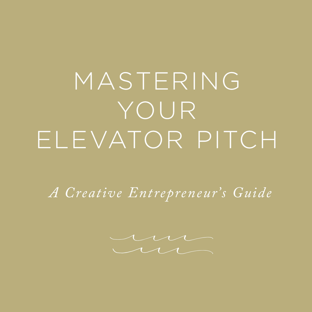 Mastering Your Elevator Pitch