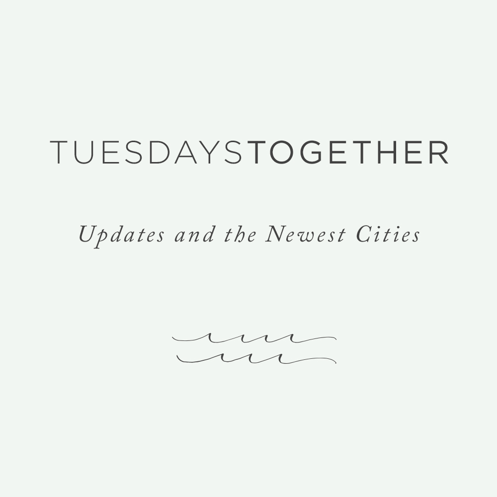 Rising Tide Society Tuesdays Together New Cities: San Francisco, Omaha, Notre Dame