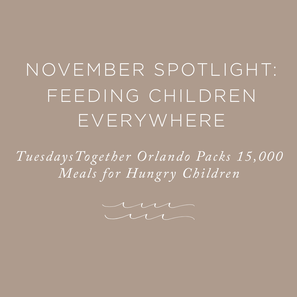 Feeding Children Everywhere | via the Rising Tide Society