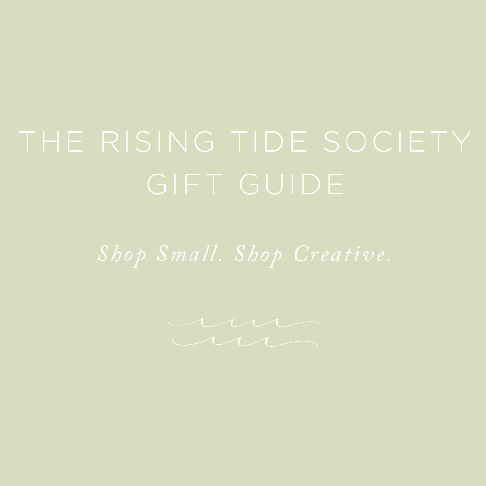 Rising Tide Society Gift Guide | via the Rising Tide Society