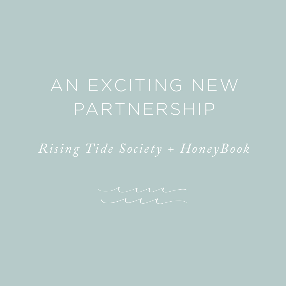 An Exciting New Partnership | via the Rising Tide Society