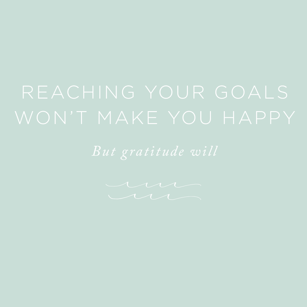 Reaching Your Goals Won't Make You Happy | via the Rising Tide Society