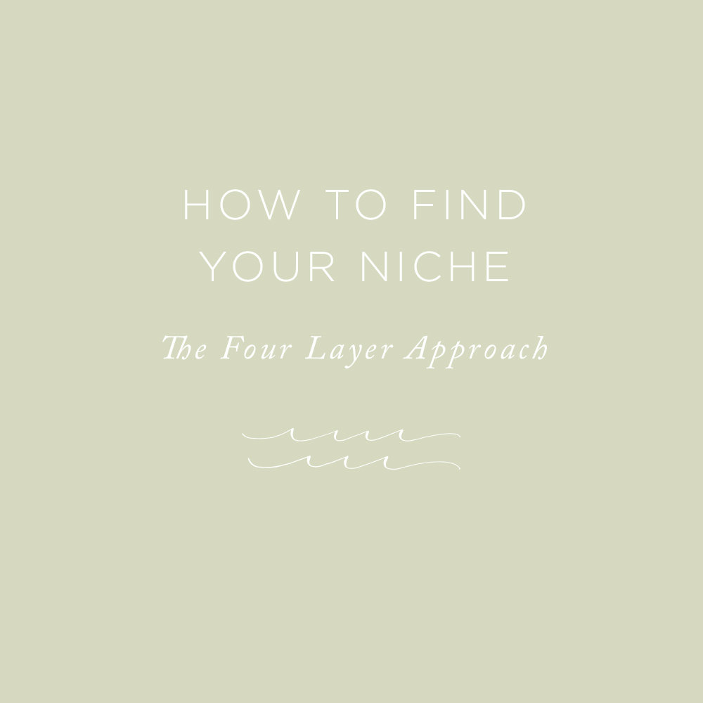 How to Find Your Niche | via the Rising Tide Society
