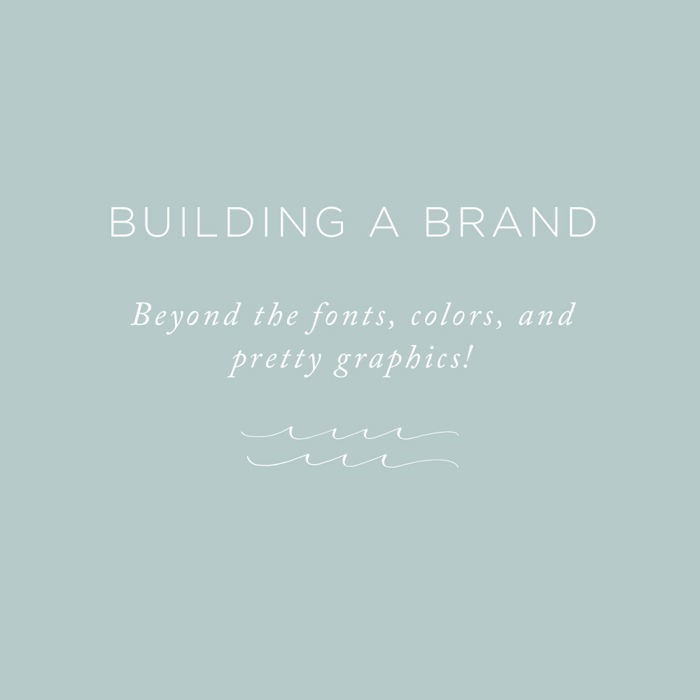 Building a Brand | via the Rising Tide Society