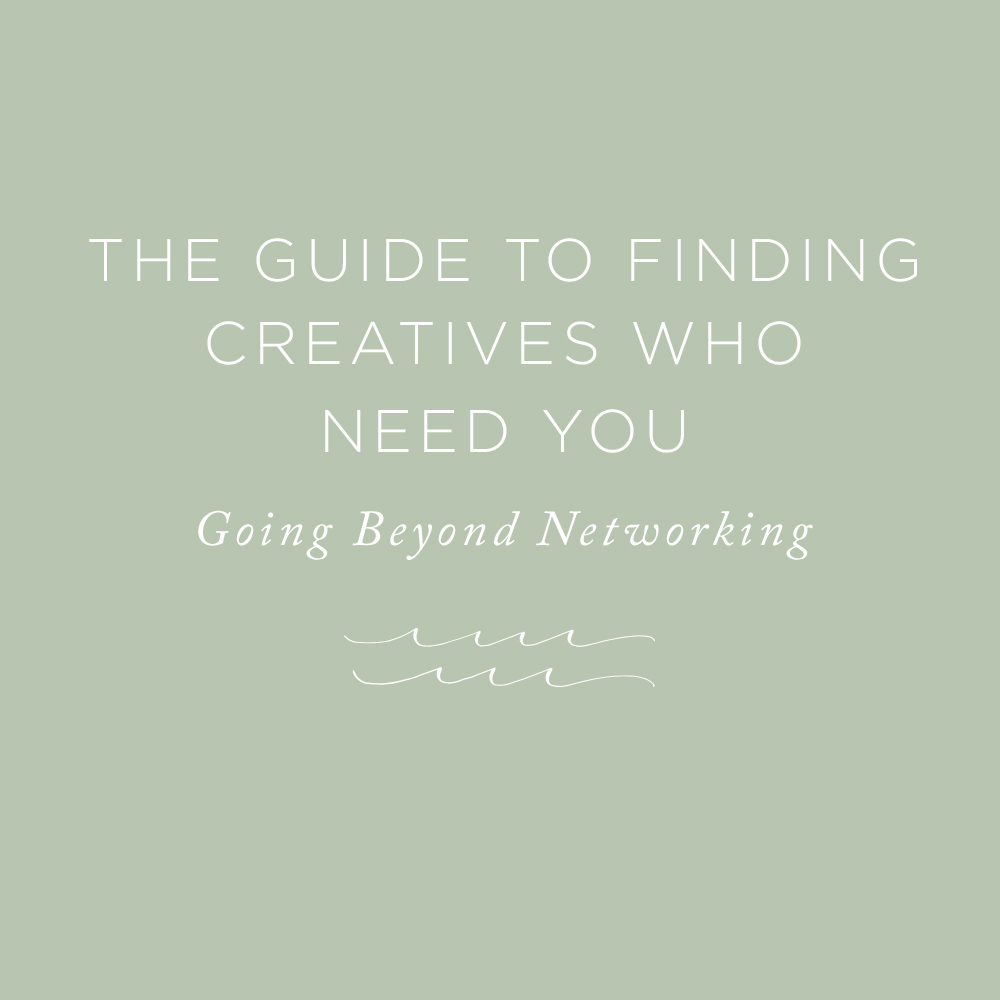 Finding Creatives Who Need You | via the Rising Tide Society
