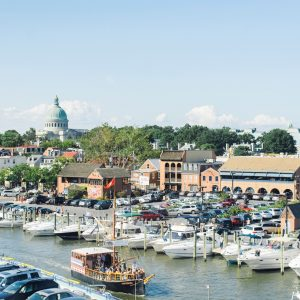 A guide to Annapolis, Maryland by the Rising Tide Society