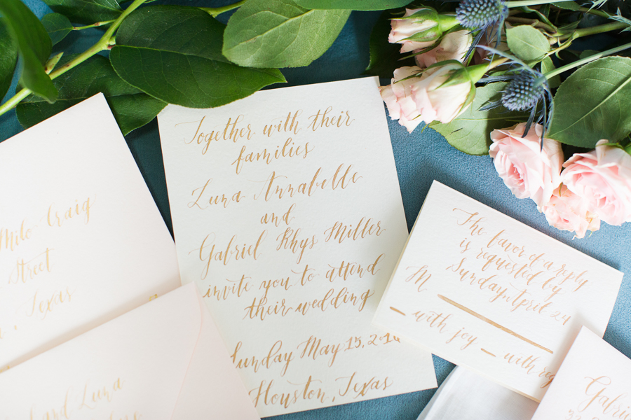 Houston Tuesdays Together (Rising Tide Society) Pantone Colors Styled Shoot