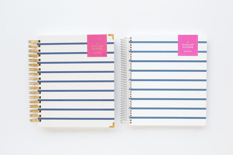 The To Do List planner is one of our favorite planners because of the blank spaces it provides to plan your week in depth.