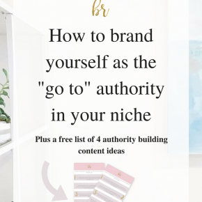 How To Brand Yourself as A Go-To Expert In Your Niche