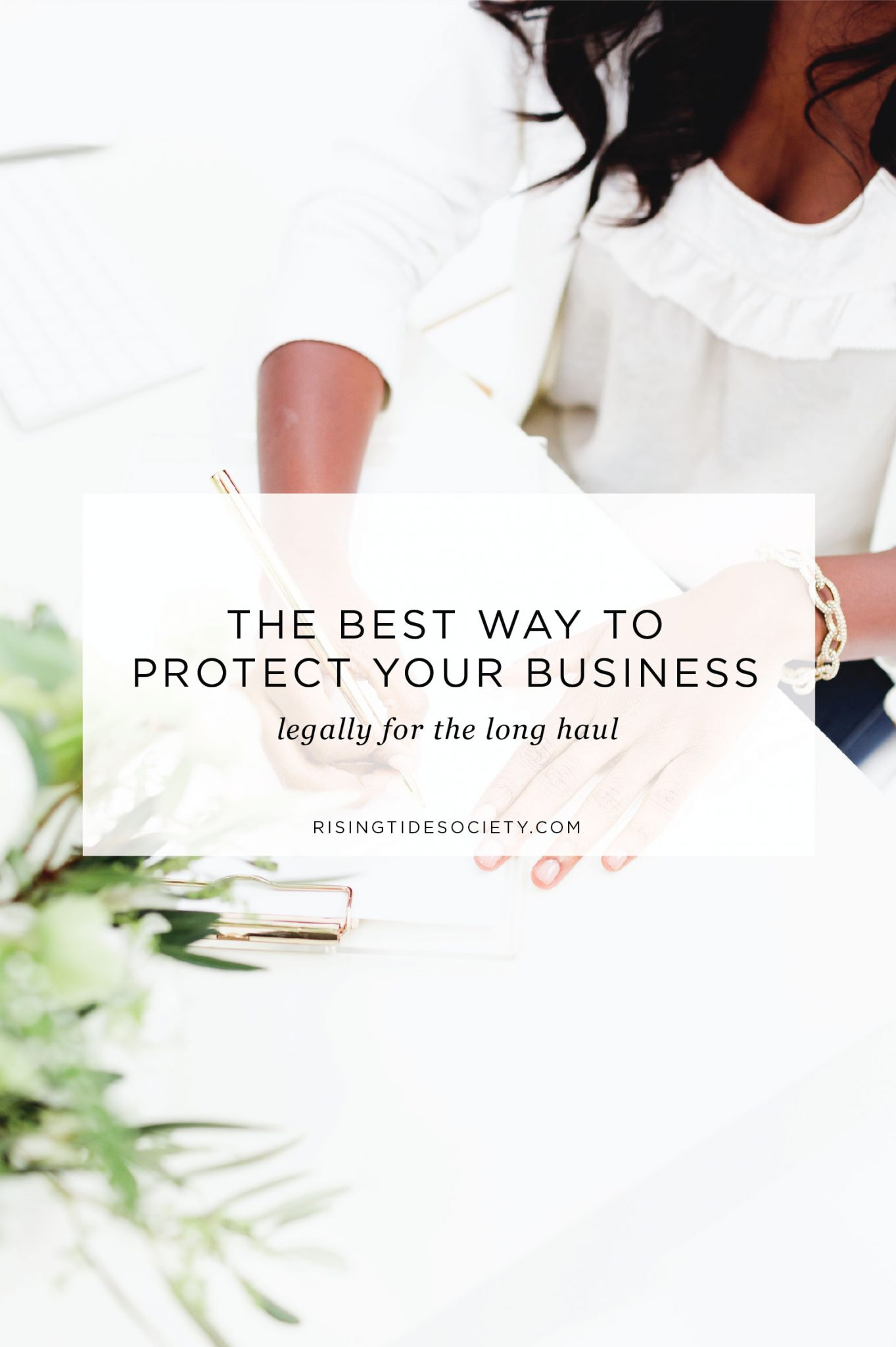 The best way to protect your business legally as a creative entrepreneur with your contract.