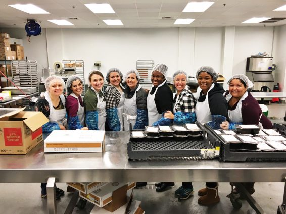 TuesdaysTogether Marietta Packing Meals | via the Rising Tide Society