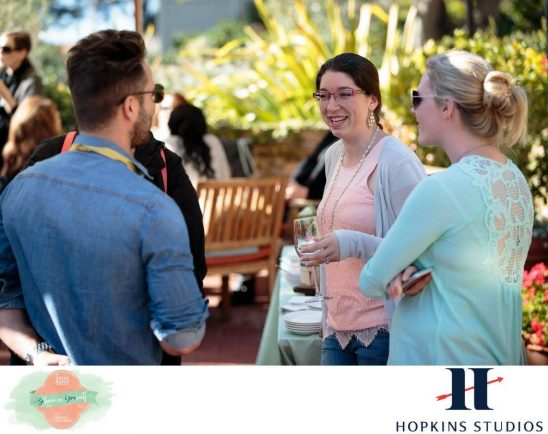 Networking is about building relationships. Photo by Hopkins Studios.
