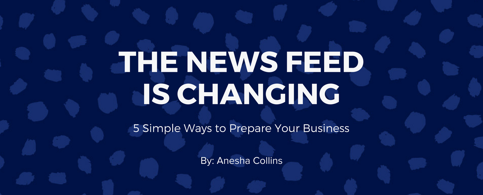 Facebook News Feed Changes - How to Prepare your Small Business Marketing Strategy
