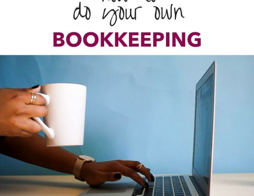 How to do your own bookkeeping title
