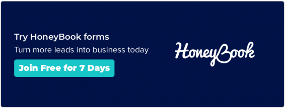 Try HoneyBook forms for free