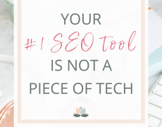 Your #1 SEO Tool is Not a Piece of Tech