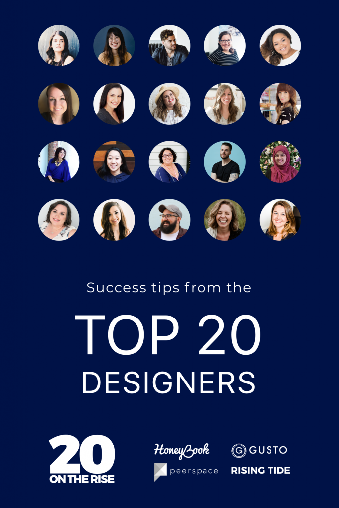 HoneyBook blog: The Top 20 Designers of 2018 Share Their Secrets to Success