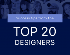 The Top 20 Designers of 2018 Share Their Secrets to Success