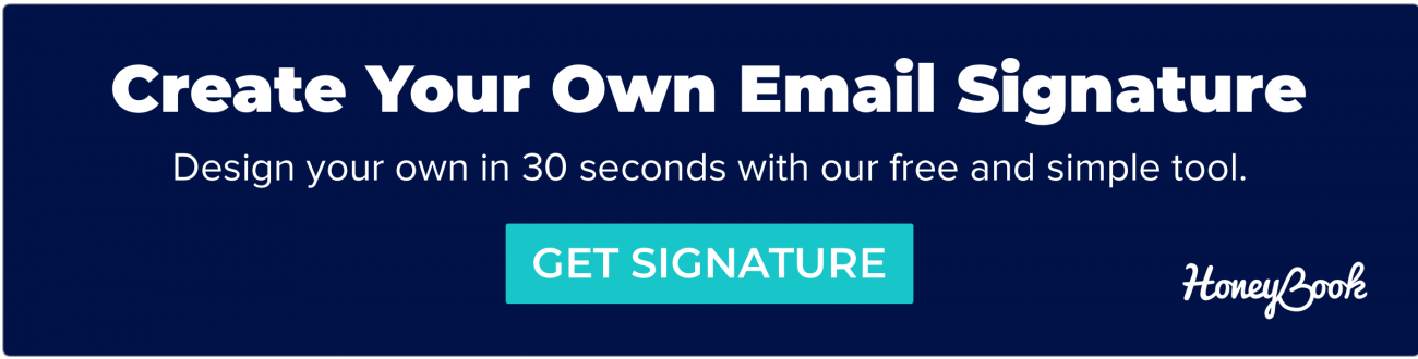 Design your own email signature for free