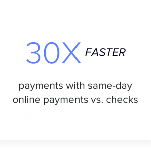 wedding venue business success story 3 - 30x faster payments with same-day online payments vs. checks