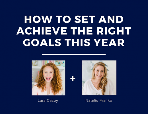 how to set and achieve the right goals this year with lara casey