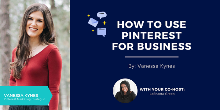 How to use pinterest for business: a free webinar