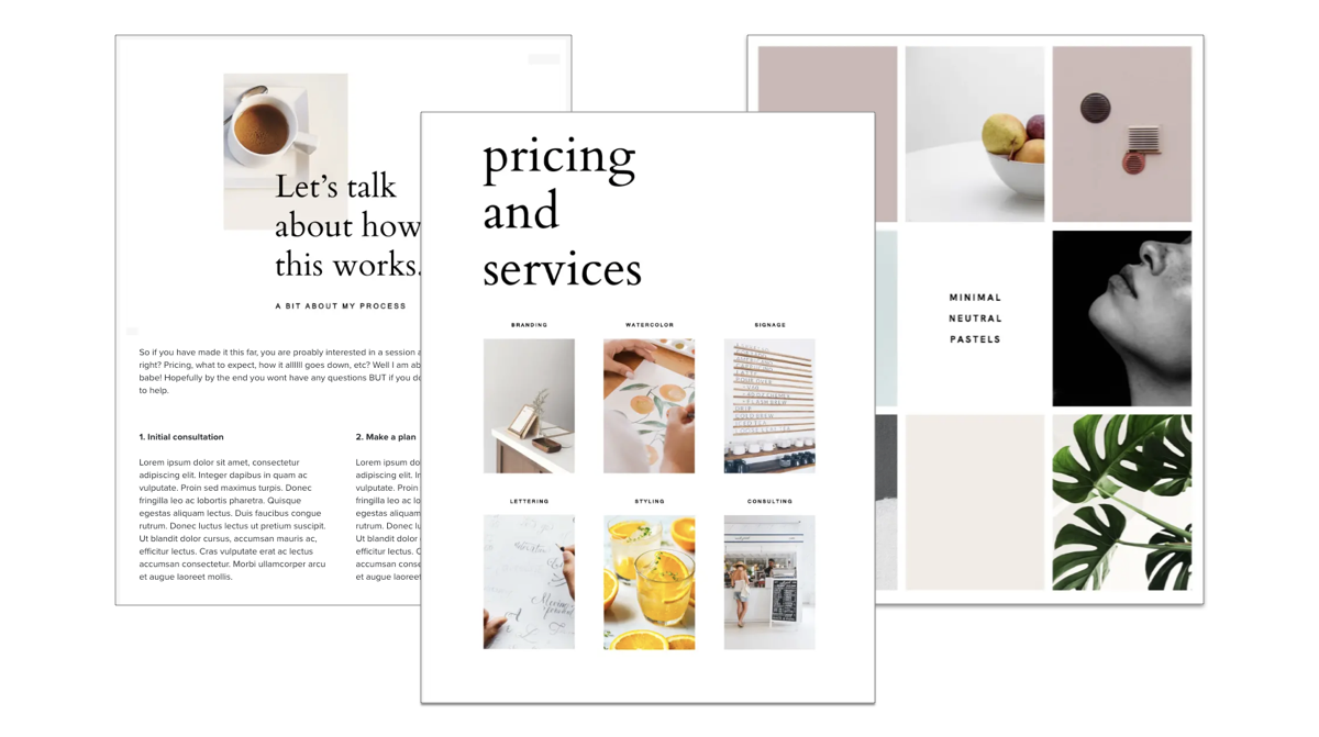 Free Brochure Templates to Make a BIG Impact