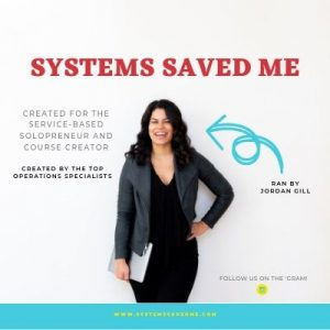 Click to visit Systems Saved me