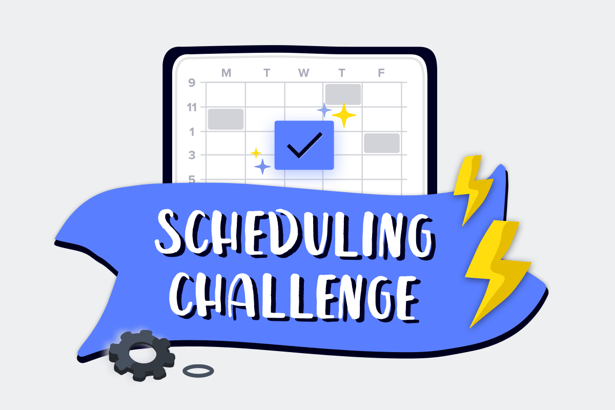 Join the Scheduling Challenge for a Chance to Win $100 Amazon Gift Card